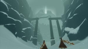Journey, screeshot de la montagne