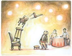 Manu, dompteur de chaises