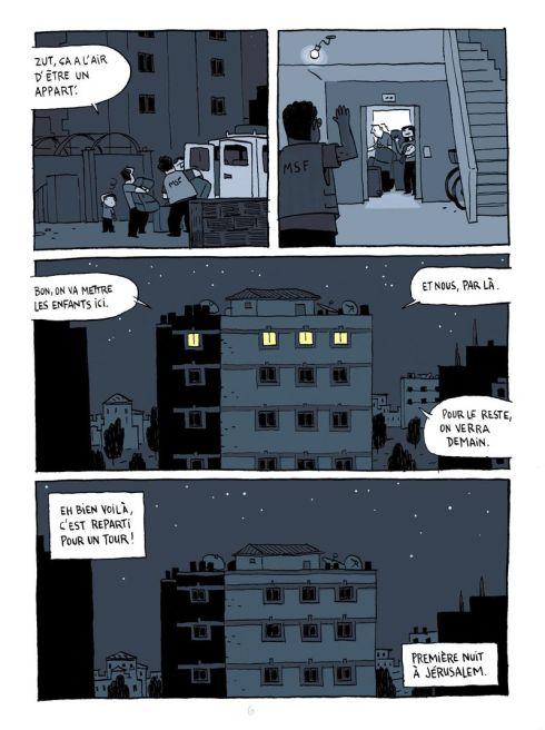 La 1e nuit à Jérusalem