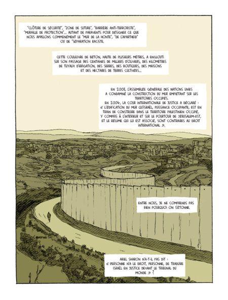 Le mur, un symbole de l'oppression