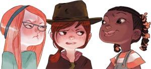 Cerise et ses amies